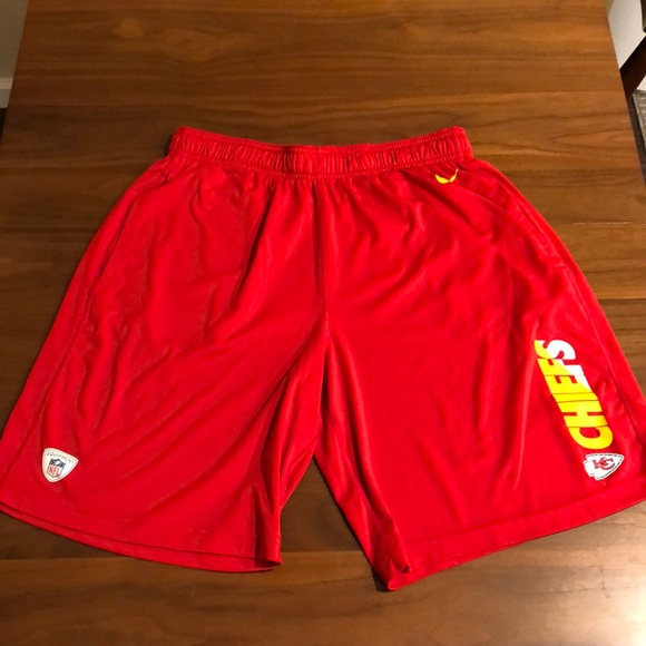 on sale e5f84 e8ae4 Nike Kansas City Chiefs shorts